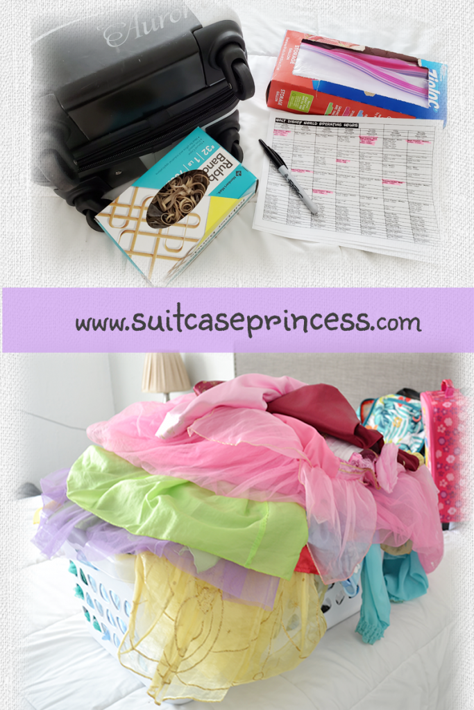 pack Princess Dresses in a Carry On