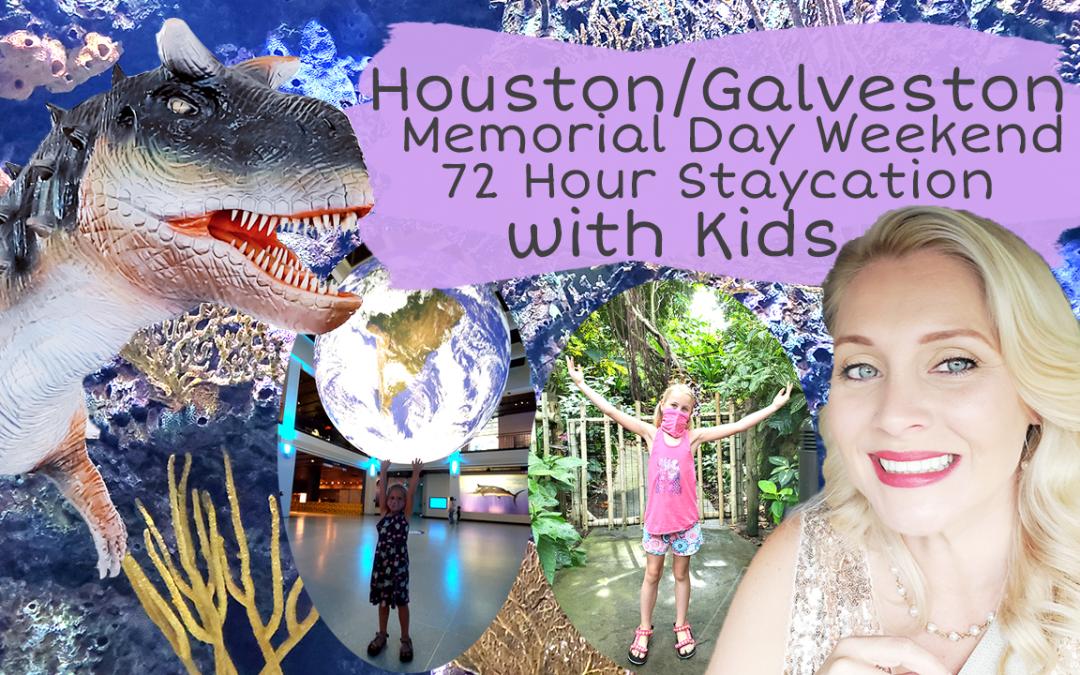 Houston Galveston Staycation Day Trips